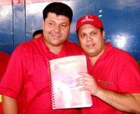 Hugo Cabezas y Richard Cabrices